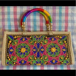 Traditional Handmade Indian Clutch Bag